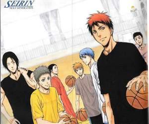 manga, kuroko no basket, and seirin image