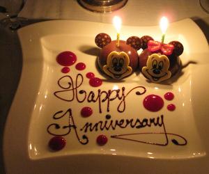 anniversary, disney, and minnie image