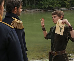 peter pan, once upon a time, and robbie kay image