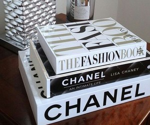 chanel, book, and fashion image