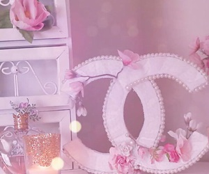 chanel, pink, and diy image