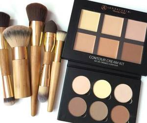 makeup, Brushes, and contour image