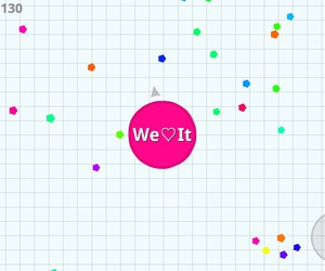 pink, agar.io, and we♡it image