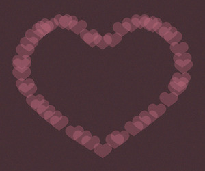 heart, pink, and purple image