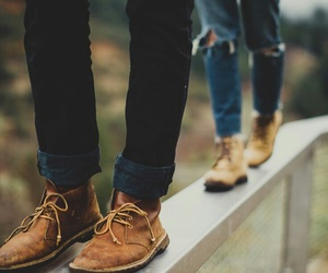 couple, shoes, and photography image