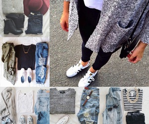 fashion, outfit, and poetic image