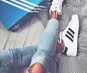 adidas, beauty, and brunette image