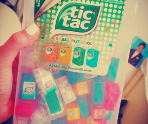 tic tac, food, and candy image