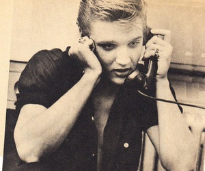 elvis telephone image