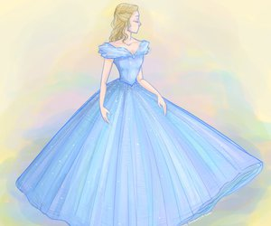 cenerentola, cinderella, and disney image