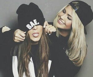 friends, bae, and best friends image