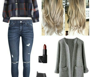 clothes, fashion, and hair image