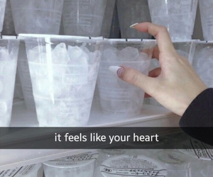 heart, cold, and ice image