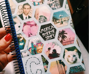 agenda, boho, and cats image