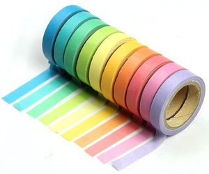 colorful, colors, and washi image