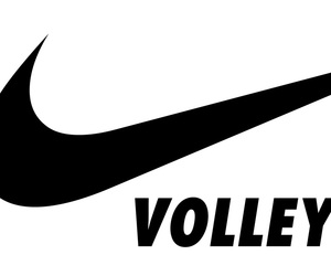 nike and volleyball image