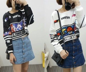 asian fashion, korea, and ulzzang image