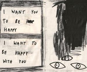 happy, love, and art image