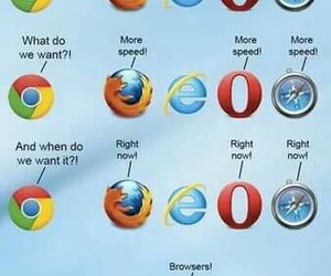funny, browsers, and internet explorer image
