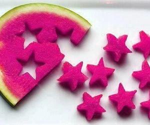 stars and watermelon image