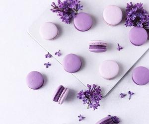 purple, cake, and sweet image