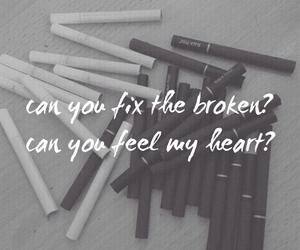 broken, feel, and heart image