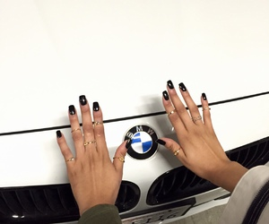 bmw, nails, and car image