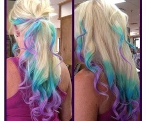 hair, colors, and cool image