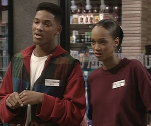 will smith, fresh prince of bel air, and tyra banks image