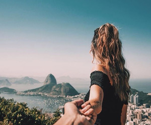 travel, couple, and summer image