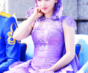 disney, descendants, and dove cameron image