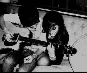 Best, couple, and music image