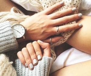 nails, style, and watch image