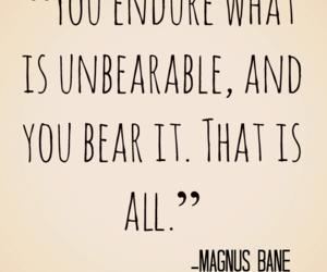 quote, magnus bane, and clockwork princess image