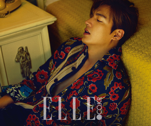 Elle, lee min ho, and 2015.09 image