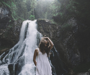 Dream, fashion, and forest image