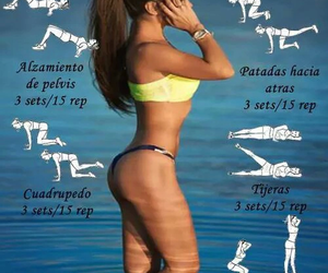 fitnes, cuerpo, and salúd image