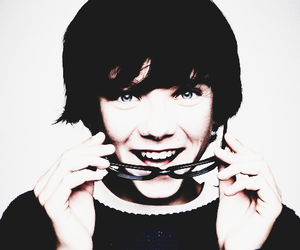 asa butterfield and smile image