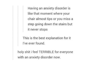 anxiety, drowning, and falling image