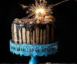 cake, chocolate, and b-day image