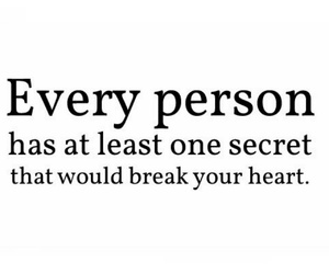 secret, quote, and text image