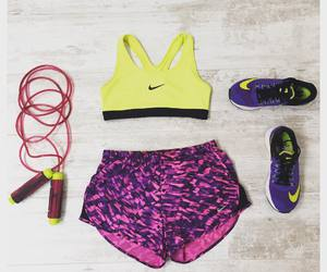 fitness, jumping, and nike image