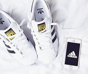 adidas, shoes, and iphone image