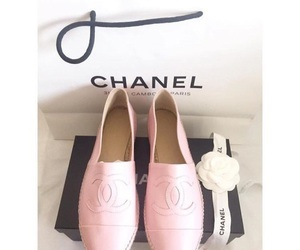 chanel, pink, and shoes image