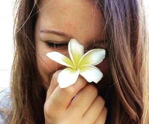 flower, fun, and girl image