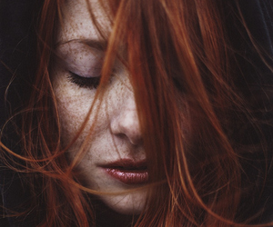 hair, redhead, and beauty image