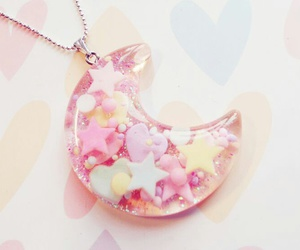 kawaii, pastel, and necklace image