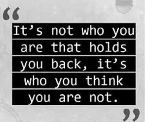 yourself thinking holding image