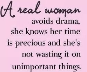 quote, woman, and pink image