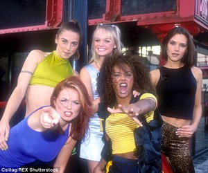 spice girls and dailymail image
